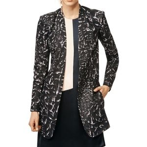 Helmut Lang Stratta blazer 6 Black and white